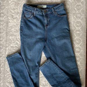 Top shop high waist Moto Jamie jeans